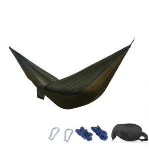 Portable Camping Hammocks Bed Chair 210T