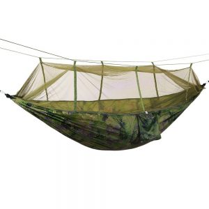 OutLife Camping Hammock with Mosquito Net Cover