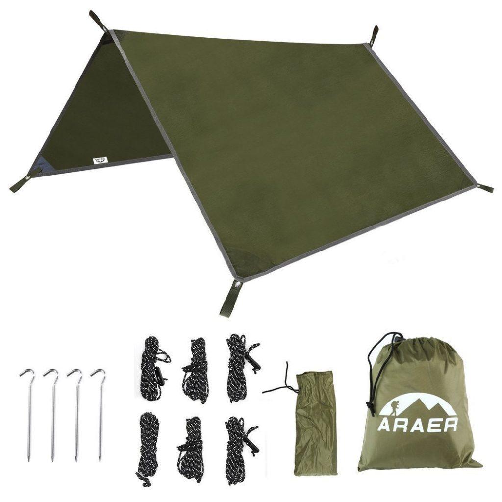 stealth camping tarp