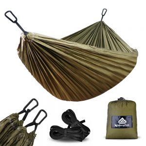 NatureFun Ultra-Light Travel Camping Hammock