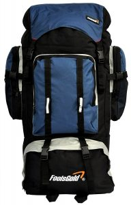 Extra Large Hiking Travel Backpack Camping Rucksack
