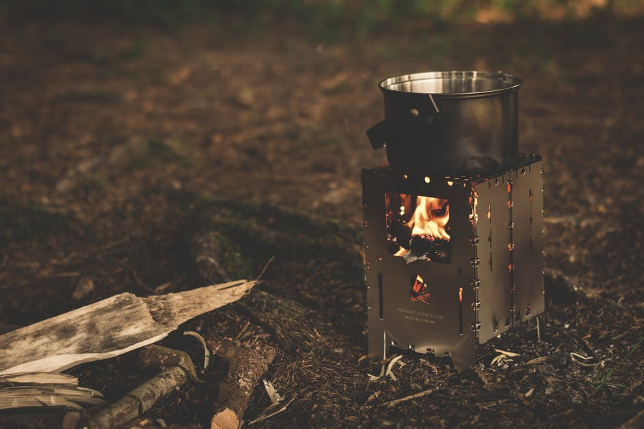 Wild camping stove