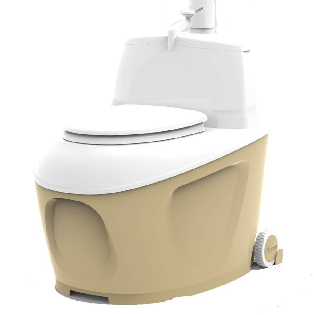 Composting camping toilet