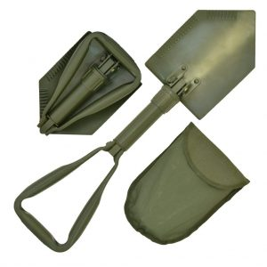 Foldable camping spade