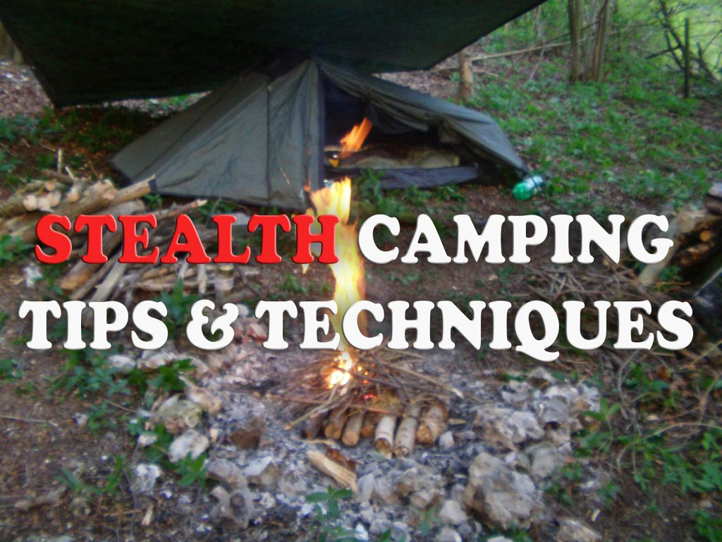 Stealth camping tips and techniques