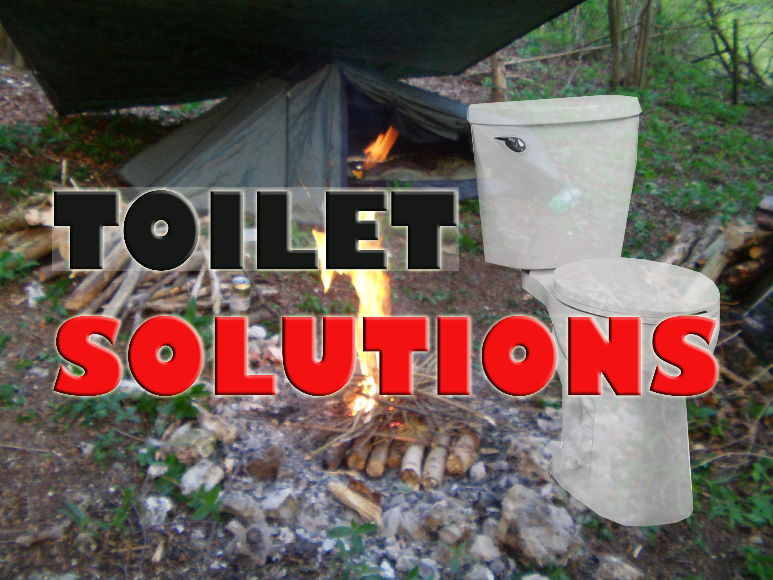 Toilet soloutions for camping