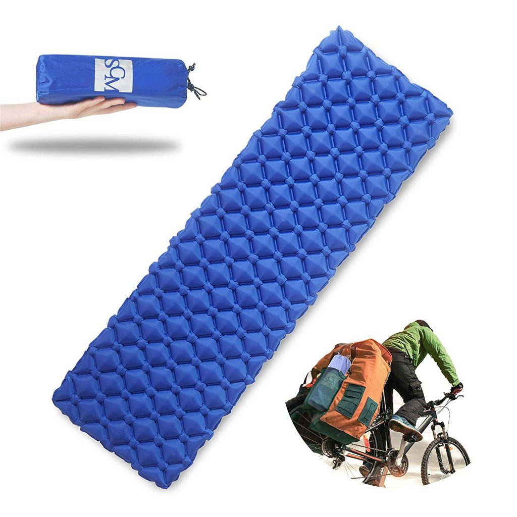 wild camping sleeping mat equipment