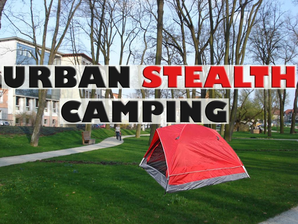 Urban stealth camping