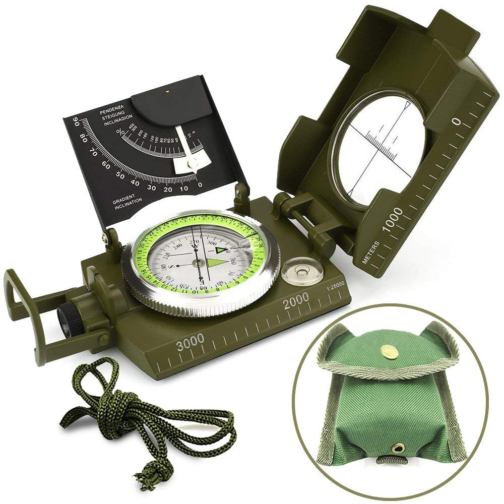 Wild camping compass