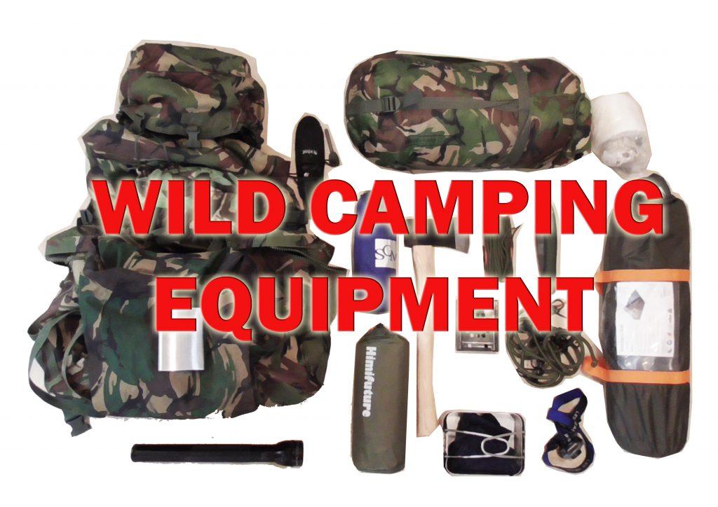 Wild Camping Equipment