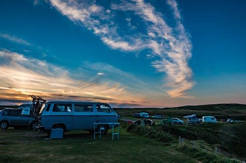 Stealth camping van