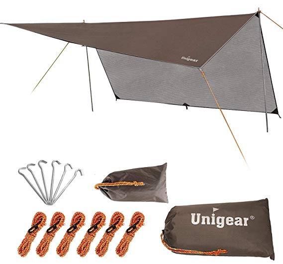 Unigear wild camping tarp