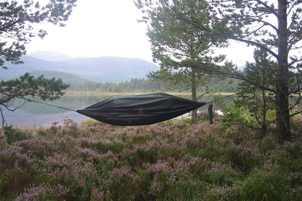 wild camping hammock