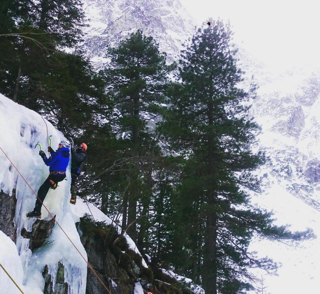 Ollie Kaye Rock Climbing