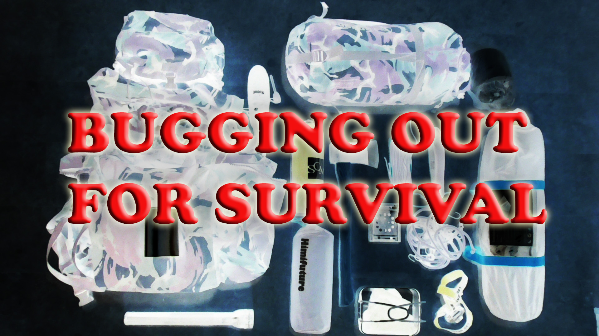Bugging out for survival