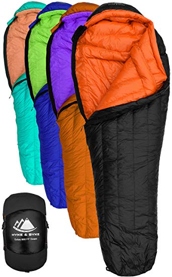Hyke & Byke cold weather sleeping bag