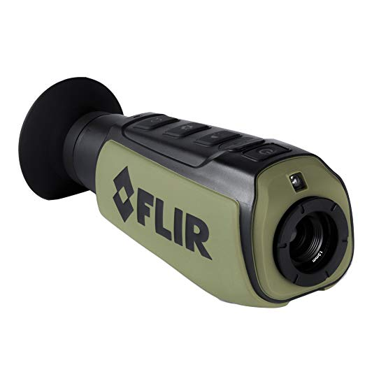 Thermal night vision scope