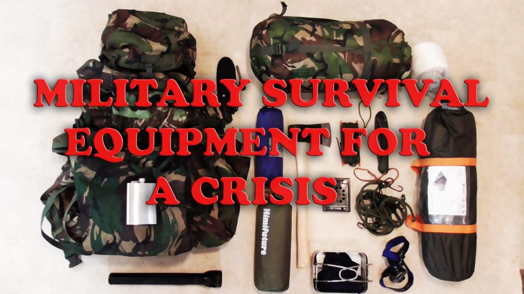 Outdoor survival equipment