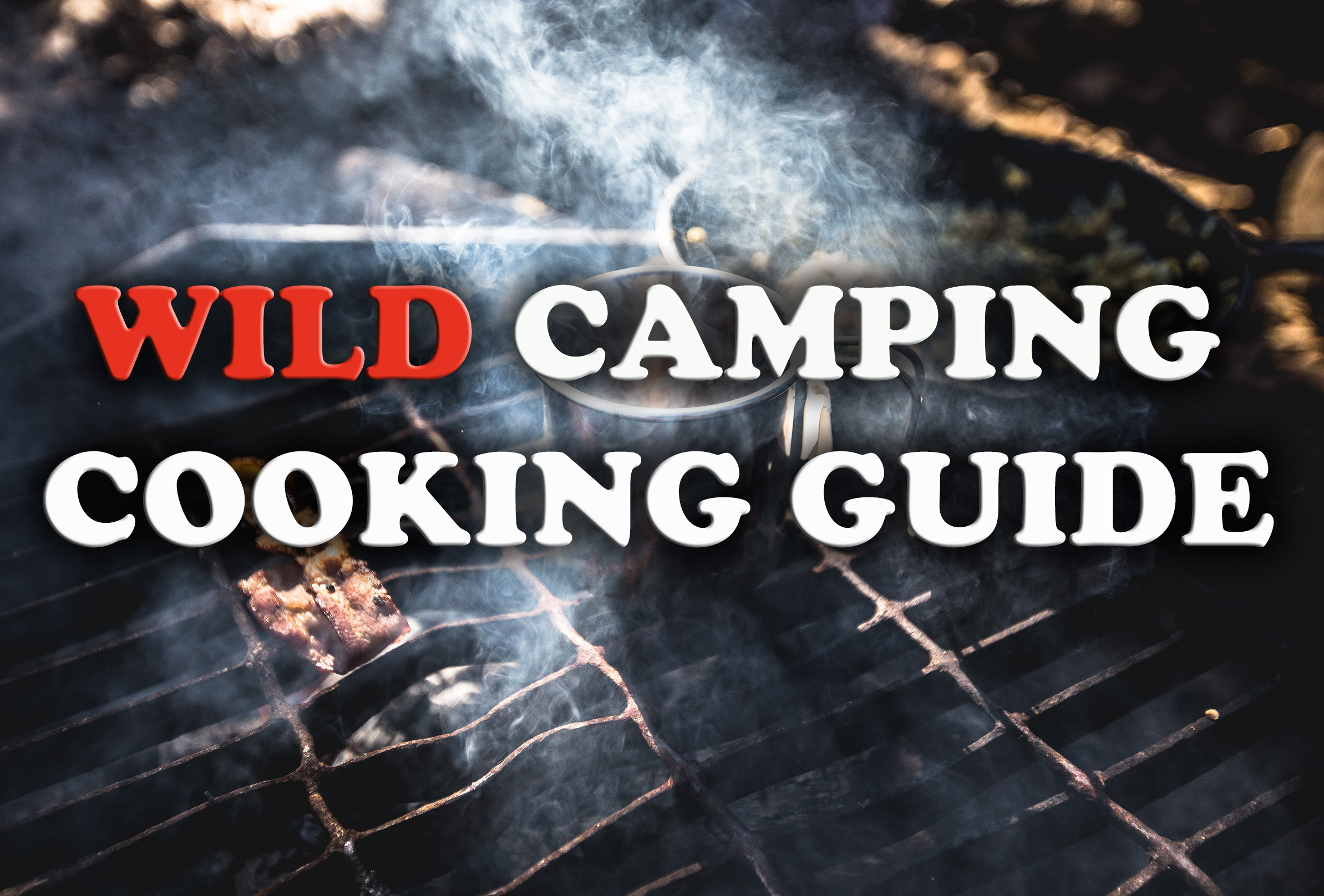 Wild camping cooking