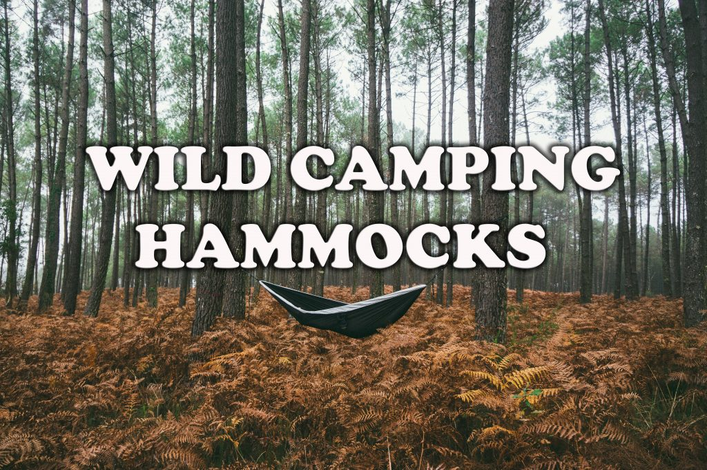 wild camping hammocks