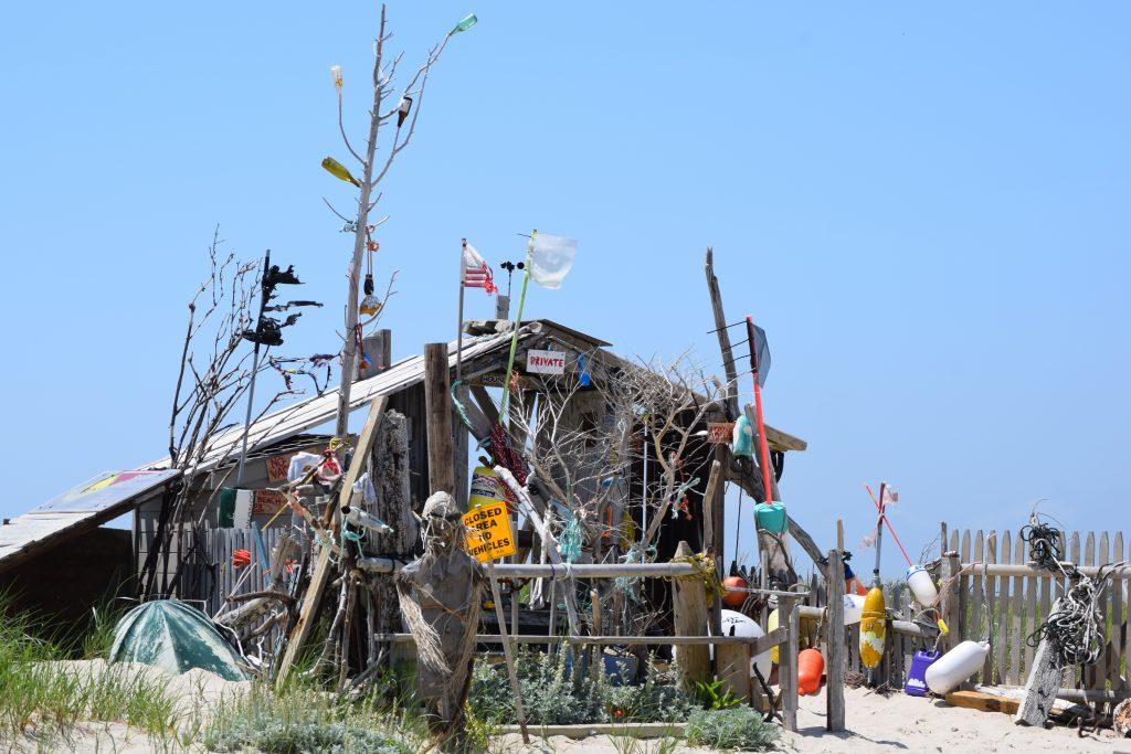 stick cabin