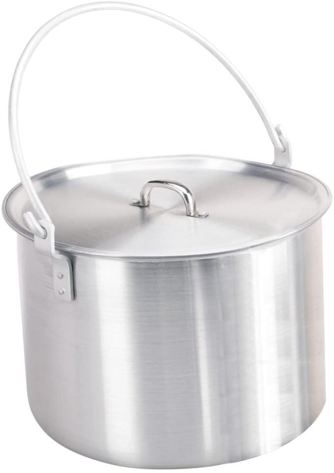 Camping tripod cooking pot