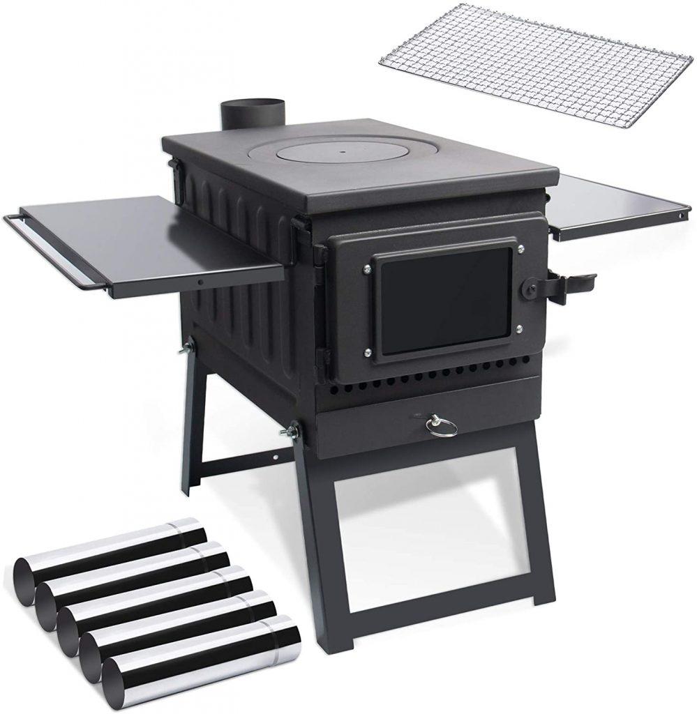 Tent stick stove