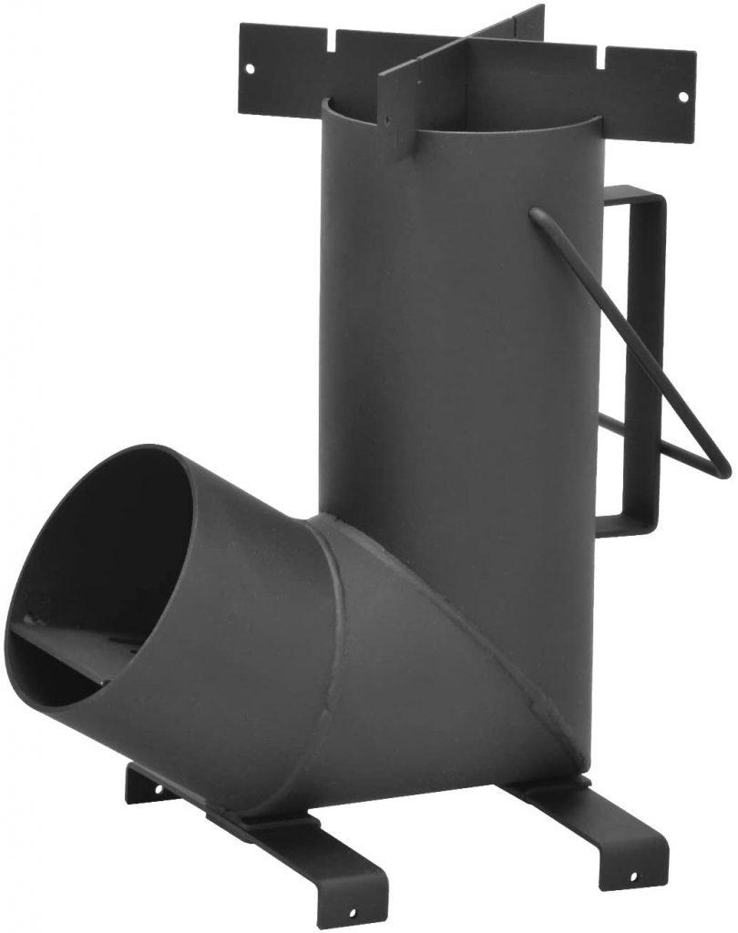 stick burner rocket stove