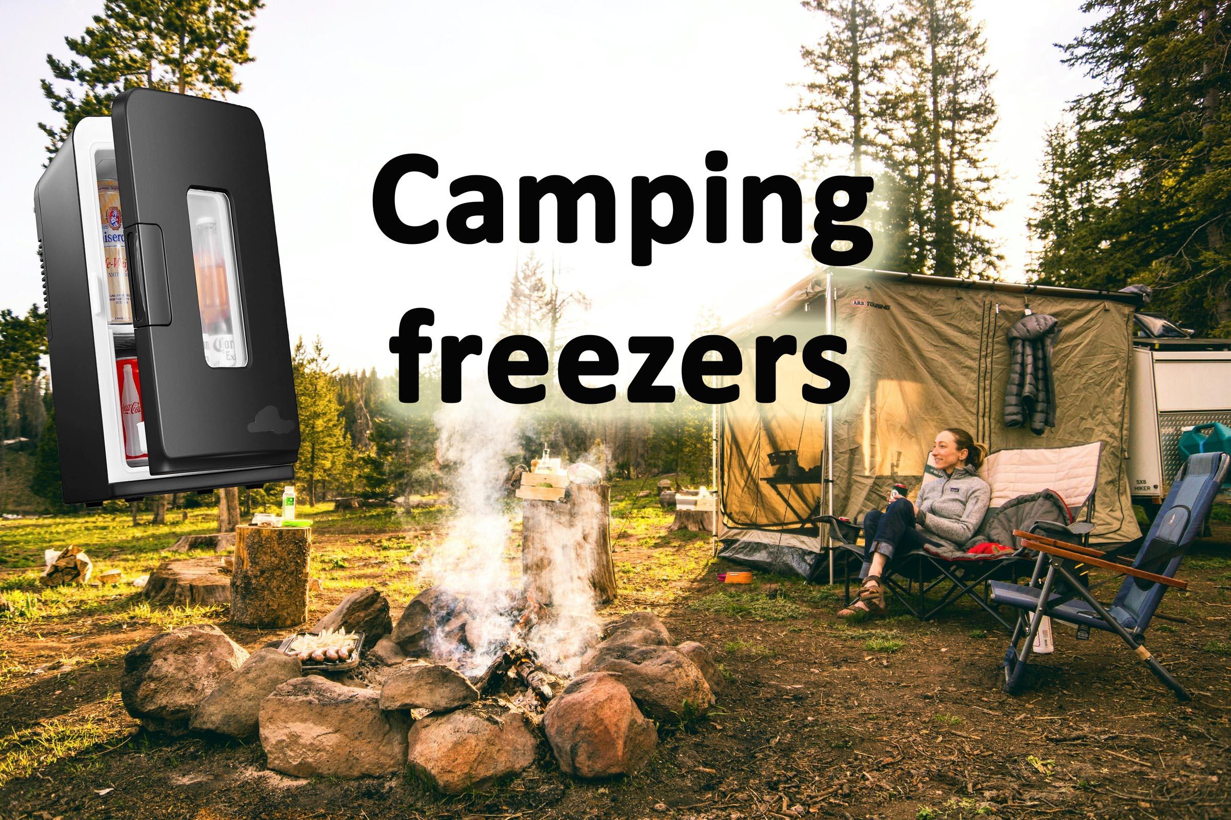 Camping freezers