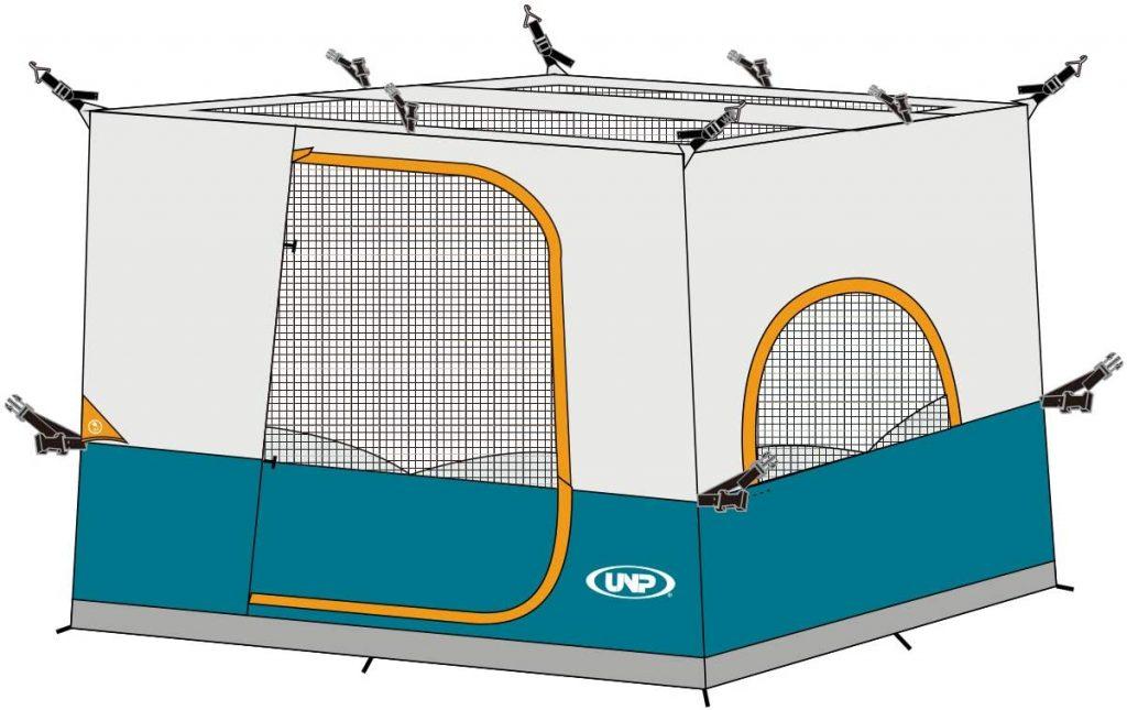 camping mesh gazebo