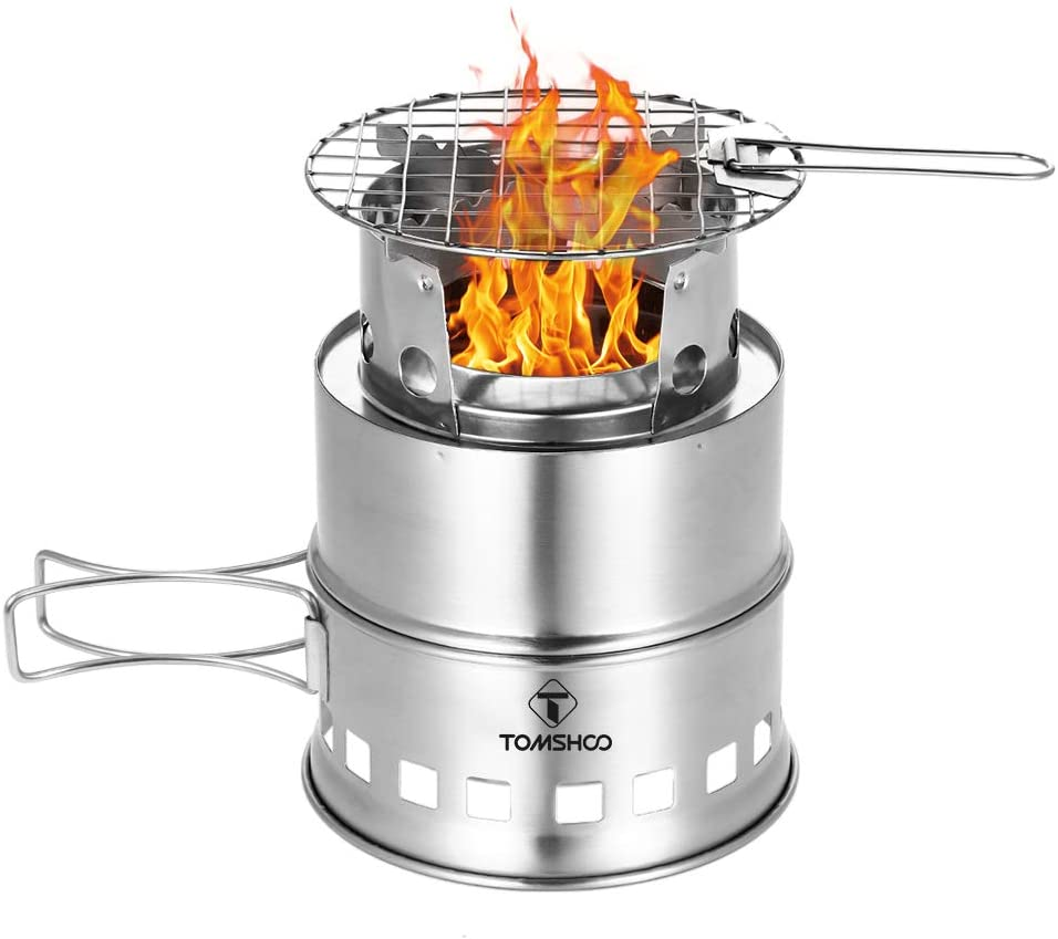 camping stick stove