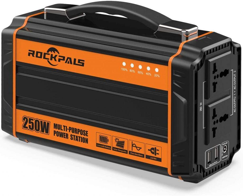Portable survival generator