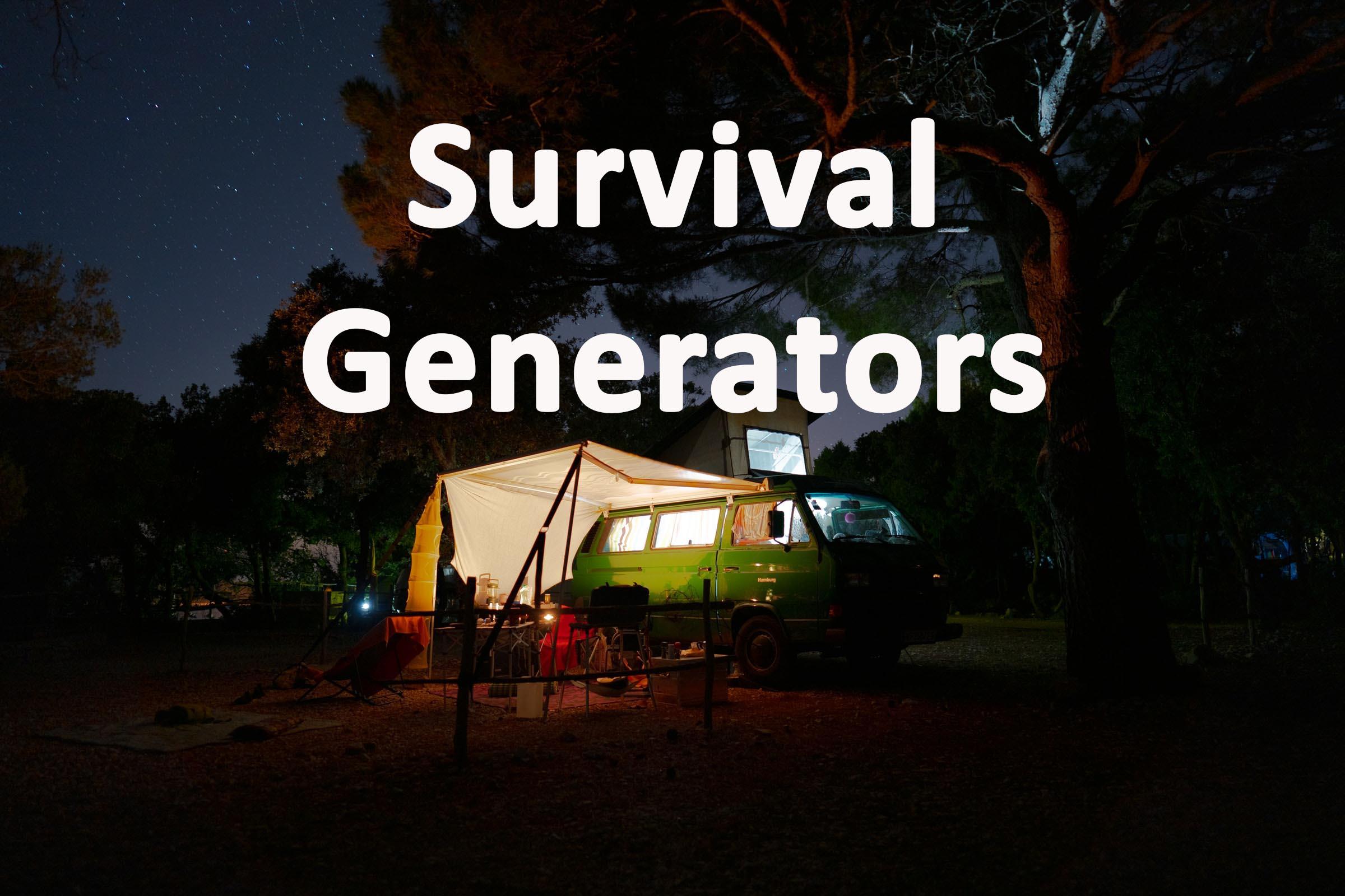 K tor Survival generators